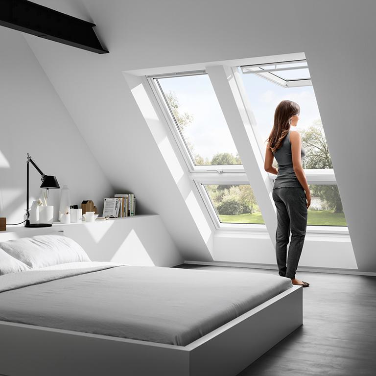 Solutions velux pour le remplacement de fen tres de toit for Fenetre toit ciel
