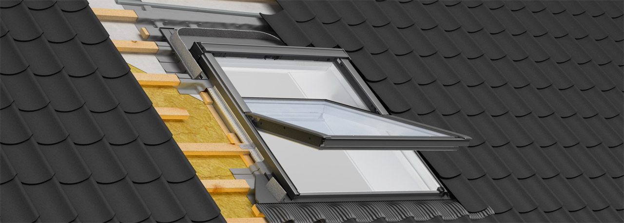 velux einbauprodukte schutz gegen feuchtigkeit und k lte. Black Bedroom Furniture Sets. Home Design Ideas