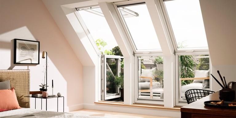 Velux dachbalkon der balkon schafft zus tzlichen raum - Velux dachfenster balkon ...