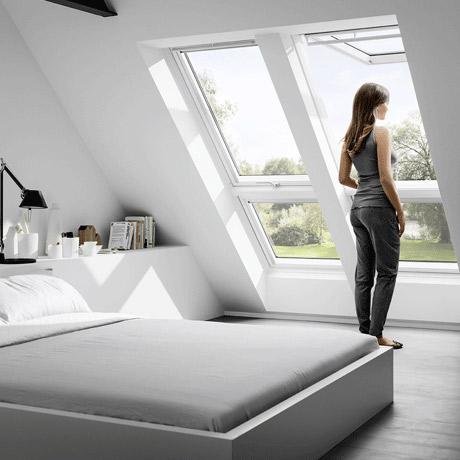fen tre de toit ouverte. Black Bedroom Furniture Sets. Home Design Ideas