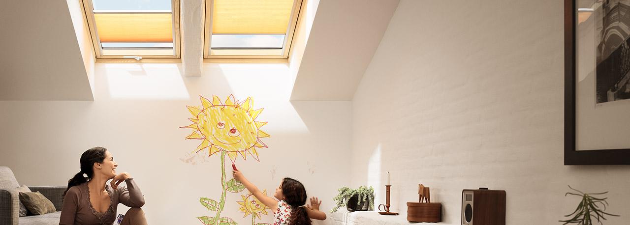 Tende plissettate velux – privacy e protezione dalla luce