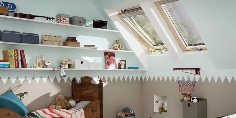 Idee per la camera dei bambini – Con finestre per tetti VELUX